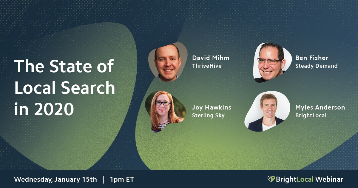 The State of Local Search in 2020 [Webinar Recap]