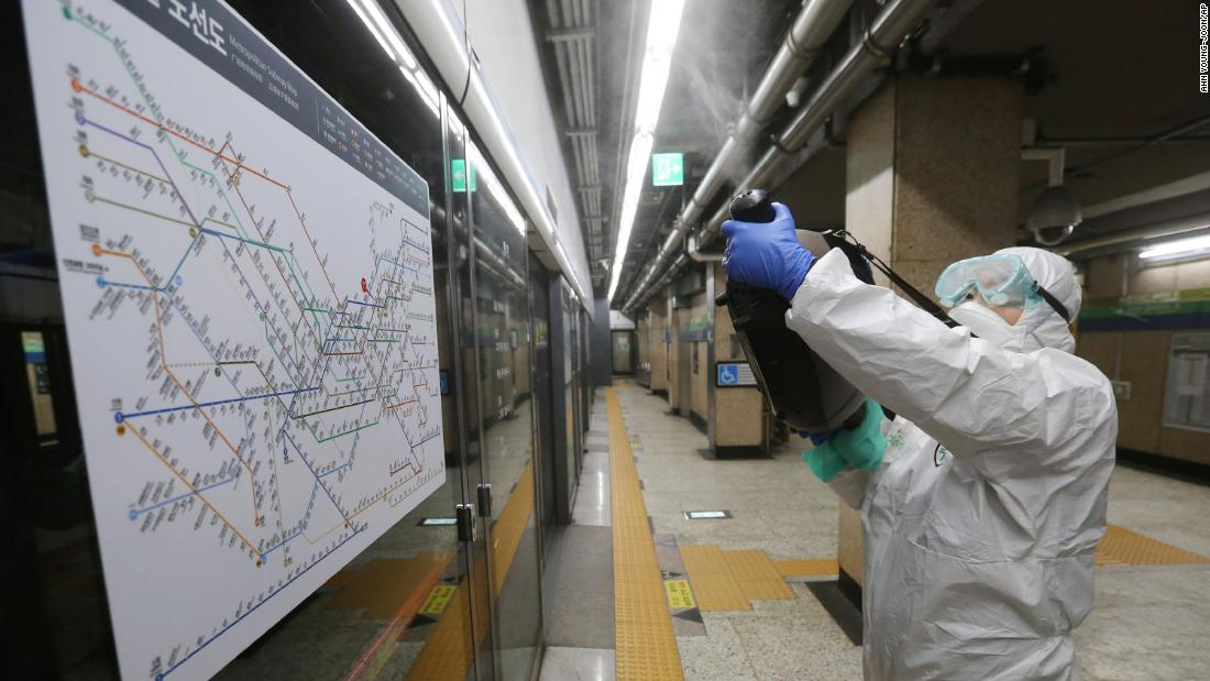 Coronavirus live updates: South Korea infections surge past 340