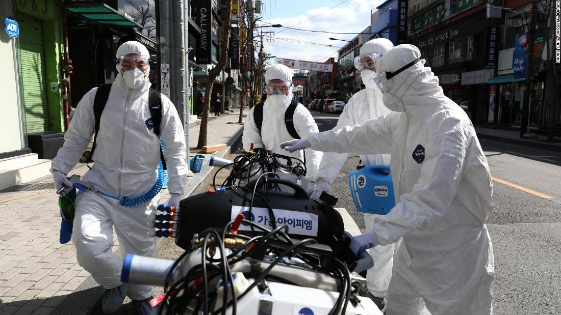 Coronavirus news and live updates: South Korea cases surpass 2,000