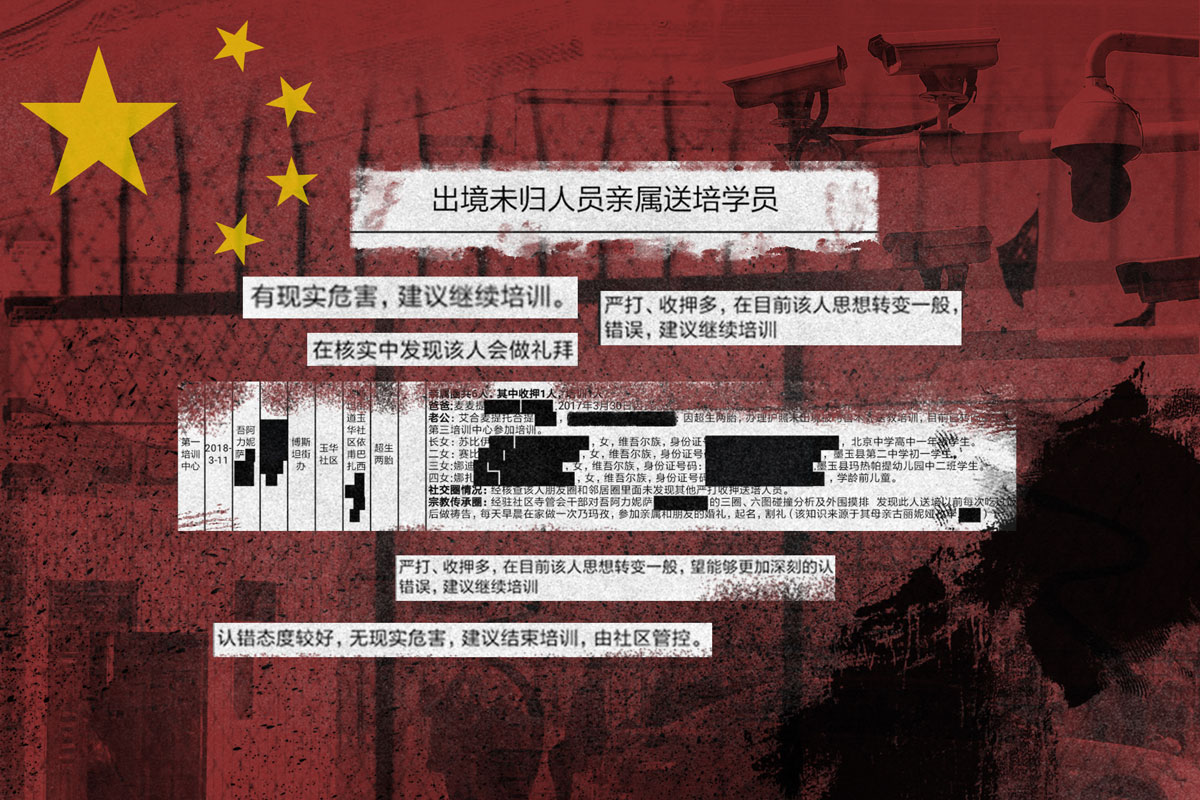 Leaked records expose how Uyghurs are judged and detained