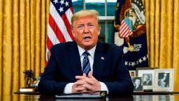 Trump address sparks chaos as coronavirus crisis deepens