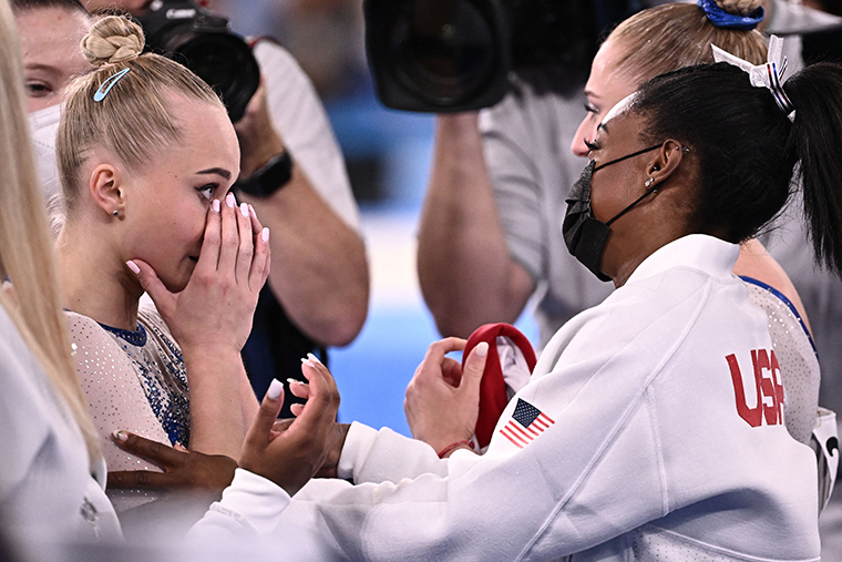 """Russian gymnast after team's gold medal: """"The impossible is possiblenow"""""""