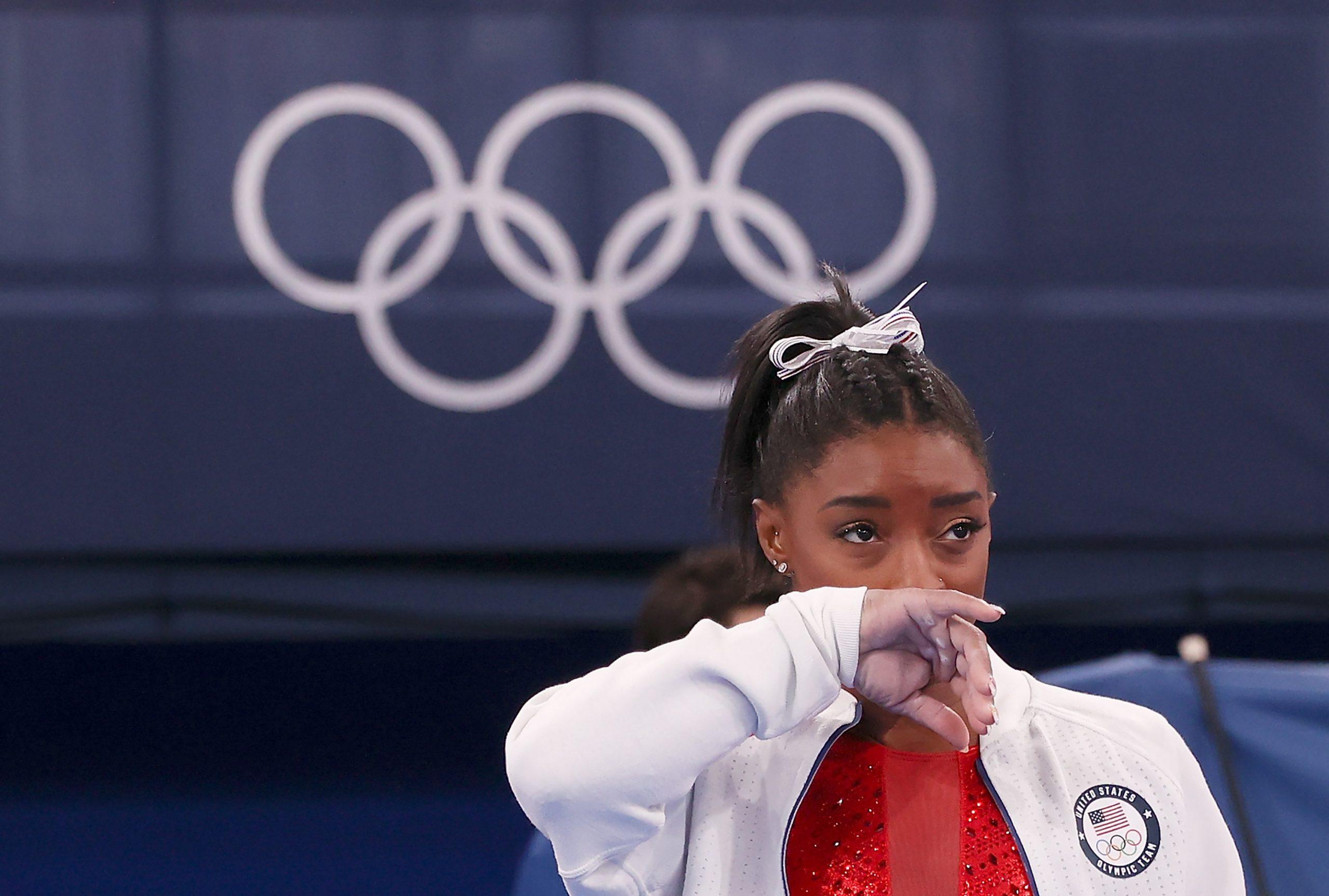 Naomi Osaka & Simone Biles Are Addressing Olympic Anxiety