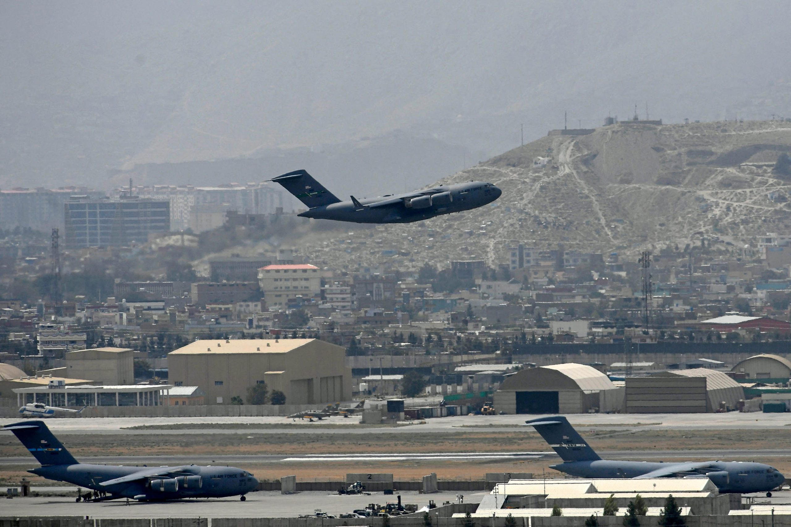 1,200 people evacuated from Kabul in last 24 hours as US mission winds down