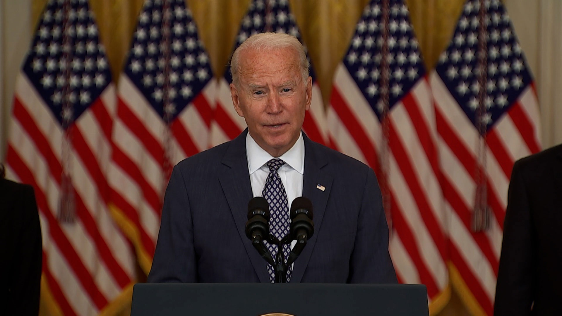 Biden speaks about Afghanistan evacuations as US scrambles to find more places to fly evacuees