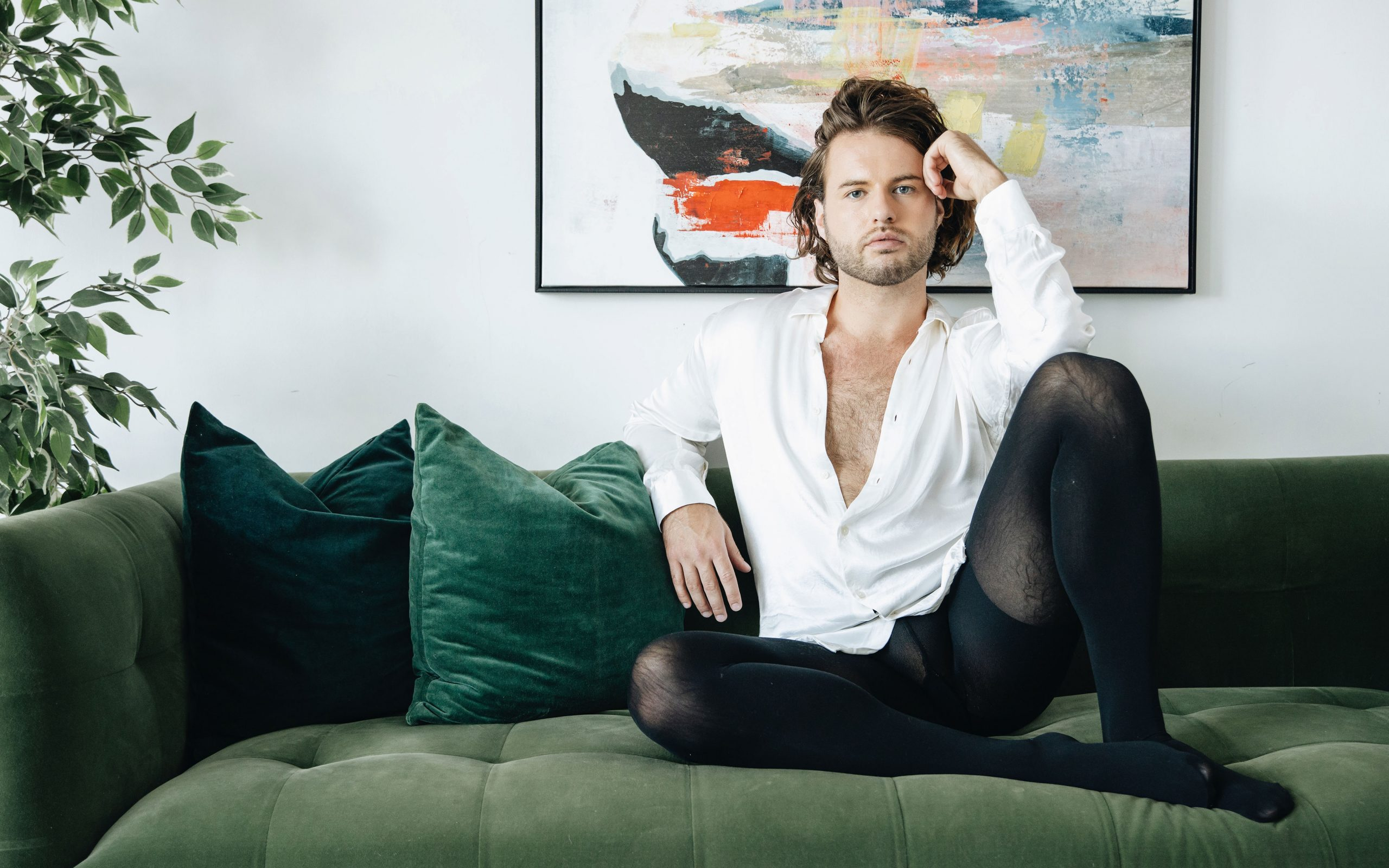 Men in tights: Is this the future of gender-fluid fashion?