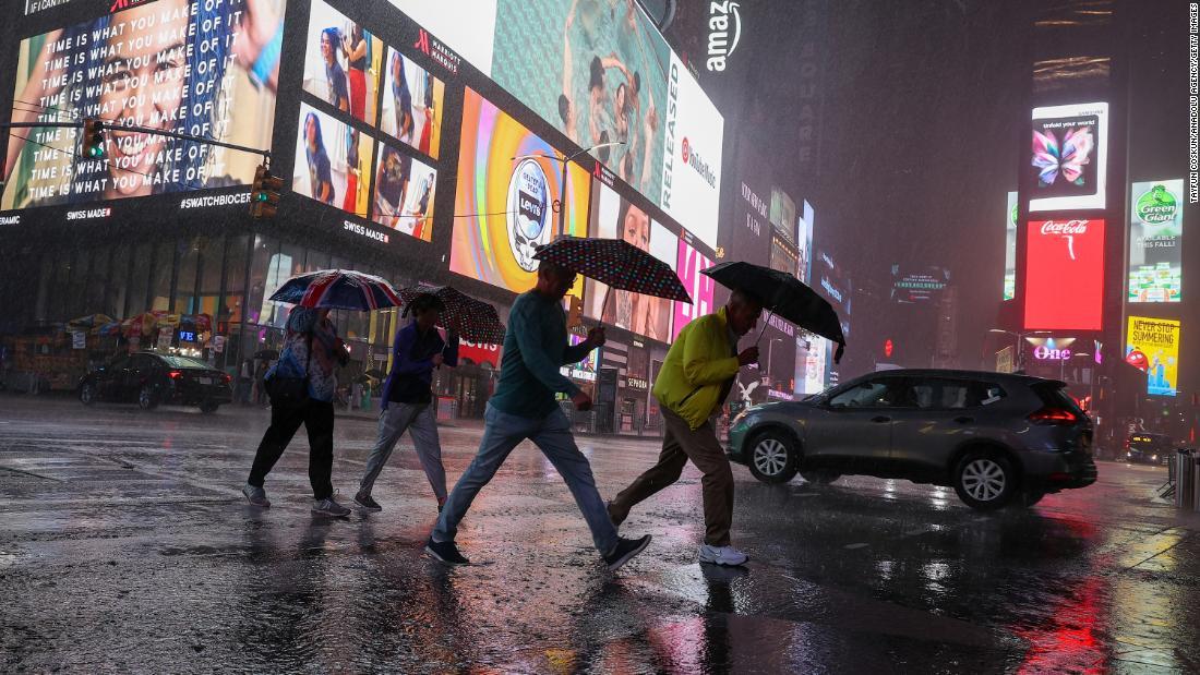 Ida triggers massive flooding across Northeast: Live updates