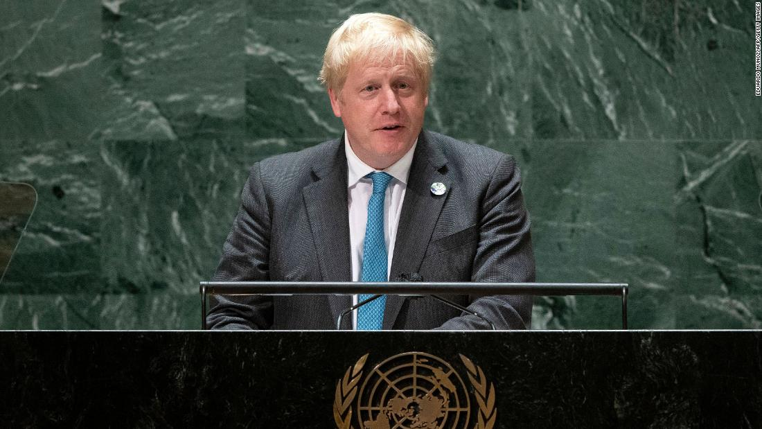 UNGA: British PM Boris Johnson says the world needs to 'grow up' and deal with climate change