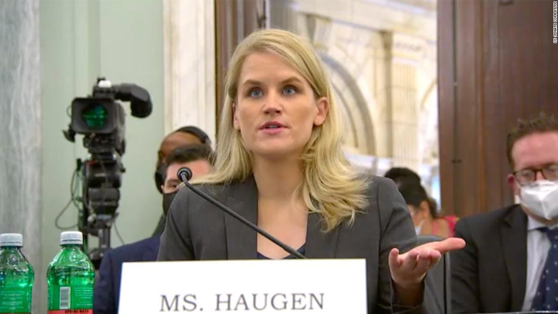 Live updates on Frances Haugen's testimony